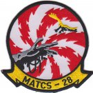 USMC MATCS 28 Marine Air Traffic Control Squadron Patch