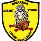 US Navy F-14 TOMCAT Operation Desert Storm I SMOKE CAMEL's BABY Patch