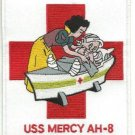 US Navy USS Mercy AH-8 Hospital Ship Patch