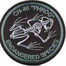 USMC CH-46 Phrog Endangered Species Patch