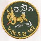 USMC VMTB-142 WWII Logo Patch
