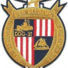 US Navy DDG-31 USS Decatur Patch