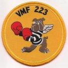 USMC Marine Attack Squadron 223 VMA-223 The Bulldogs Patch