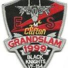US Navy VF-154 Black Knights Grandslam 1999 Patch