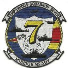 US Navy Amphibious Squadron Seven Patch