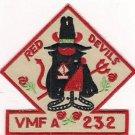 USMC VMFA-232 Marine Fighter Attack Squadron Patch Rare