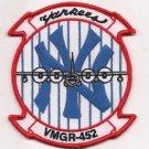 USMC VMGR-452 Marine Aerial Refueler Transport Squadron 452 Patch