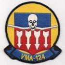 USMC VMA-124 Marine Attack Squadron 124 Wild Aces Patch