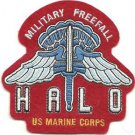 USMC Military Free fall HALO Patch