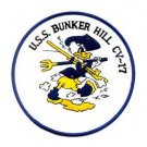 US Navy CV-17 USS Bunker Hill Military Patch
