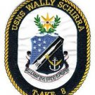 US Navy T-AKE 8 USNS Wally Schirra Patch
