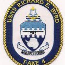 US Navy T-AKE 4 USNS Richard E. Byrd Patch