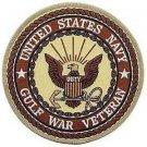 US Navy Gulf War Veteran Desert Patch