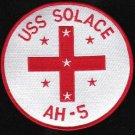 US Navy USS Solace AH-5 Hospital Ship Military Patch