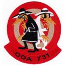 US Army Co C 1st Bn 7th SFG Operational Det Alpha Alpha ODA-731 Patch SPY VS SPY