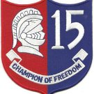US Navy DESRON 15 Champion Of Freedom Patch