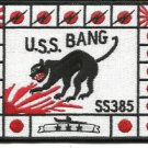 US Navy USS BANG SS - 385 Patch
