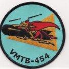 USMC VMB / VMTB-454 Bomber Torpedo Bomber Squadron WWII style Patch