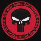 US Navy SEAL God Will Judge Military Patch Red