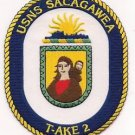 US Navy T-AKE-2 USNS Sacagawea Patch