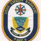 US Navy T-AKE-6 USNS Amelia Earhart Patch