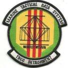 USMC TDCC Detachment Tactical Data Communications Central Vietnam Patch