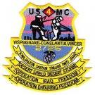 USMC 2ND BATTALION 25TH MARINES 4TH DIVISION Vietnam Patch VISPUGNARE-CONSLANTIA