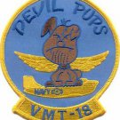 USMC VMT-18 Marine Training Squadron Devil Pups Patch