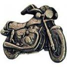 Harley Davidson Pewter Motorcycle Emblem Pin Pinback