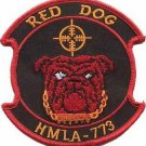 USMC HMLA-773 Light Attack Helicopter Squadron Patch