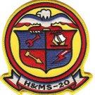 USMC HAMS-20 Headquarters and Maintenance Squadron Patch