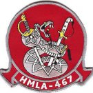 USMC HMLA-467 Marine Light Attack Helicopter Squadron Patch