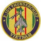 "USAF F-105 Thunderchief ""Thud"" Vietnam Patch"