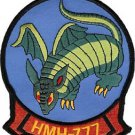 USMC HMH-777 Marine Heavy Helicopter Squadron Patch