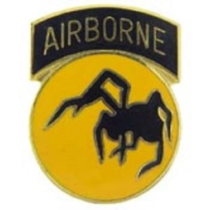 US Army 135th Airborne Division Pin