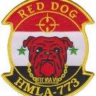 USMC HMLA-773 Marine Light Attack Helicopter Squadron Fit Via Vi Patch