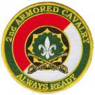 US Army 2nd armoned Cavalry  Division Vietnam Veteran Patch