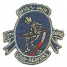 USAF 13th bomb Grim Reapers  Devil's Own Grim Reapers Vintage Vietnam Patch