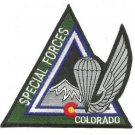 US Army Colorado Special Forces Patch
