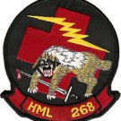 USMC HML-268 Marine Light Helicopter Squadron Patch