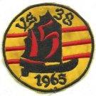 US Navy Sea Patrol  Attack Squadron VS-38 Patch