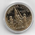 America Unites Department of the Army MerlinGold® Challenge Coin