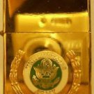 Polished Chrome United States Army Lighter