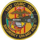 USMC UH-34D Medium Transport Helicopter Patch