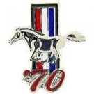 Ford Mustang Logo 1970 Pin