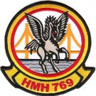 USMC HMH-769 Marine Heavy Helicopter Squadron Patch