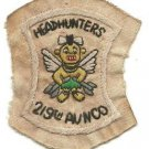 US Army 219th Aviation Company Headhunters Recon Vintage Vietnam Patch