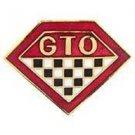 Pontiac GTO LOGO Car Emblem Pin Pinback