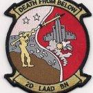 USMC 2nd LAAD Low Altitude Air Defense Battalion Patch
