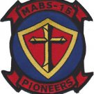 USMC MABS 15 Marine Air Base Squadron Pioneers Patch